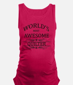 quilter Maternity Tank Top