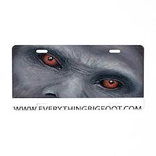 EVERYTHING BIGFOOT! Aluminum License Plate