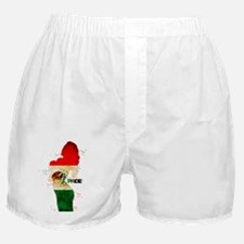 Mexican Pride Tee Boxer Shorts