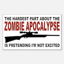 Zombie Apocalypse Stickers