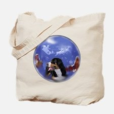 Greater Swiss Christmas Tote Bag