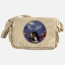 Greater Swiss Christmas Messenger Bag