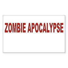 Zombie Apocalypse Decal