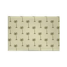 Tropical Caroilna Summer Palm Rectangle Magnet