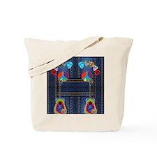 hippie guitar Tote Bag