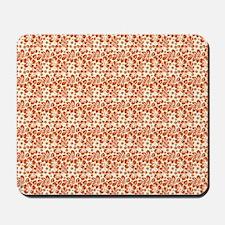 Tropical Carolina Hibiscus Orange Mousepad