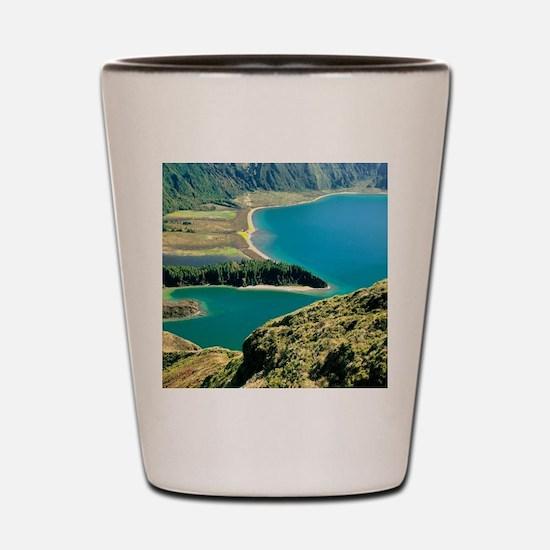 Lagoa do Fogo Shot Glass