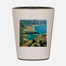 Lagoa do Fogo Shot Glass