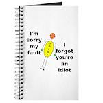 Your'e An Idiot Journal