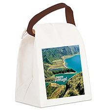 Lagoa do Fogo Canvas Lunch Bag
