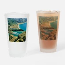 Lagoa do Fogo Drinking Glass