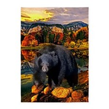 Bear Lookout 5'X7'area Rug