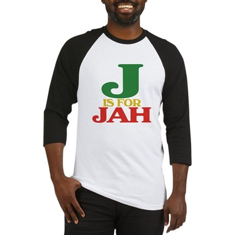 J is for Jah Baseball Jersey