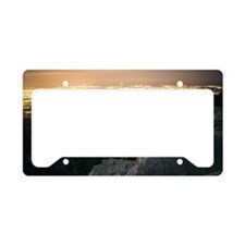 View Down License Plate Holder