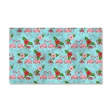 Flamingos Car Magnet 20 x 12