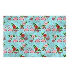 Flamingos Postcards (Package of 8)