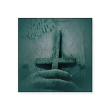 "Infant Annihilator Band Tee Square Sticker 3"" x 3"""