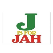J is for Jah Postcards (Package of 8)
