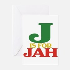 J is for Jah Greeting Cards (Pk of 10)