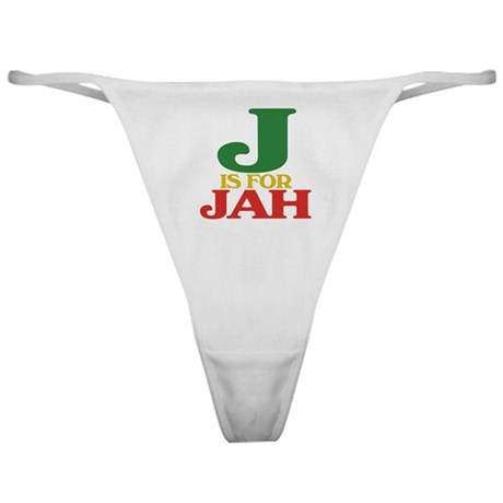 J is for Jah Classic Thong