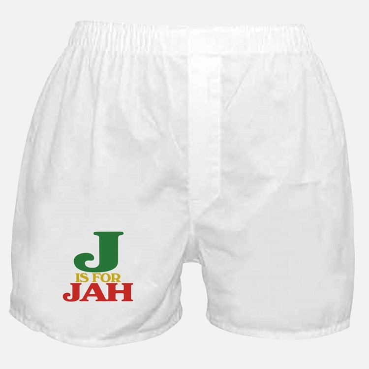J is for Jah Boxer Shorts