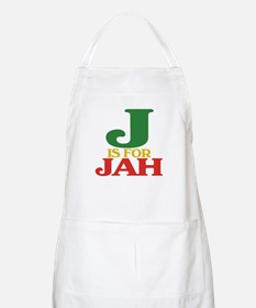 J is for Jah BBQ Apron
