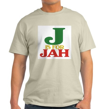 J is for Jah Light T-Shirt