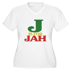 J is for Jah T-Shirt