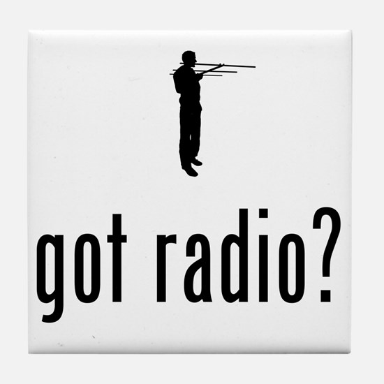 Amateur-Radio-02-A Tile Coaster