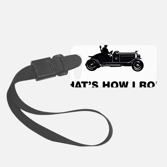 Antique-Car-Owner-12-A Luggage Tag
