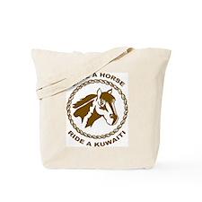 Ride A Kuwaiti Tote Bag