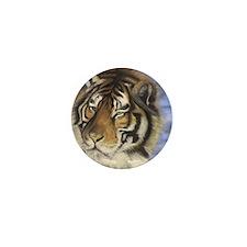 Daddys Tiger Mini Button