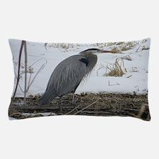 Great Blue Heron Pillow Case
