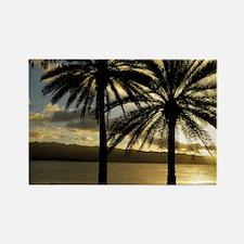 Sunset Haleiwa Oahu Rectangle Magnet