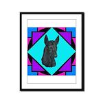 Xolo design Framed Panel Print