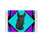 Xolo design Rectangle Magnet (10 pack)