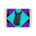 Xolo design Rectangle Magnet (100 pack)