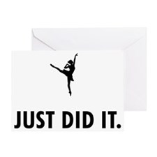 Ballet-Dancer-04-A Greeting Card