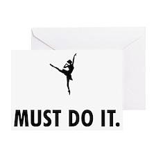 Ballet-Dancer-08-A Greeting Card