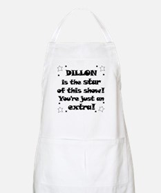Dillon is the star BBQ Apron