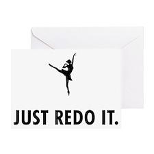 Ballet-Dancer-05-A Greeting Card