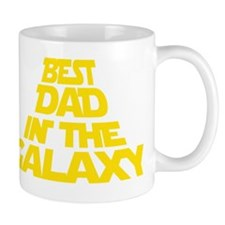 BEST DAD IN THE GALAXY Small Mugs