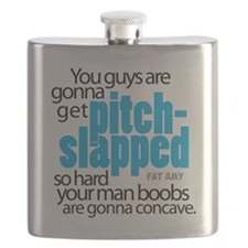 Pitch-Slapped Flask