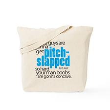 Pitch-Slapped Tote Bag