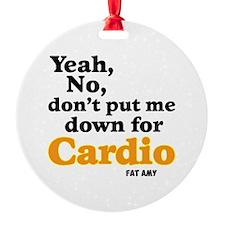 No Cardio Ornament