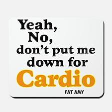 No Cardio Mousepad