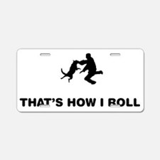 Dog-Trainer-01-12-A Aluminum License Plate