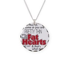 Fat Hearts Necklace