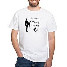 Separate Yin  Yang T-Shirt