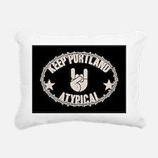 rock-portland-CRD Rectangular Canvas Pillow